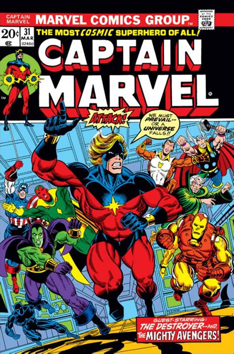 Captain Marvel #31 - The Beginning of the End (Issue)