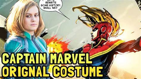 Captain Marvel Movie Green Suit Explained | Original Mar ...