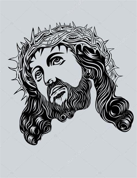 Cara de Jesucristo — Vector de stock © sumbajimartinus ...