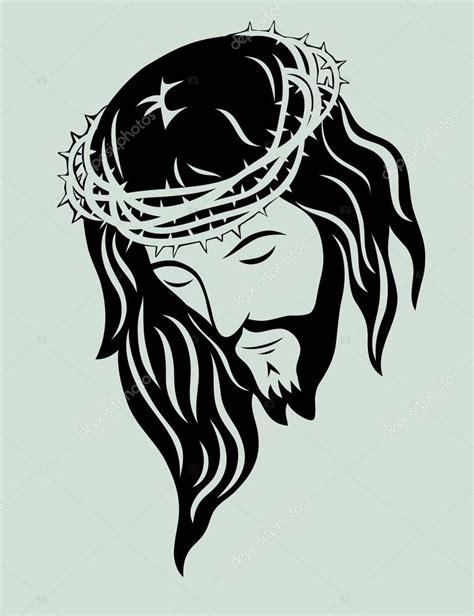 Cara de Jesus Cristo — Vetores de Stock #75540921