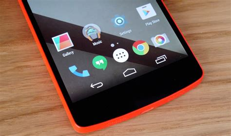 Características de Android Lollipop para Nexus 4 ...