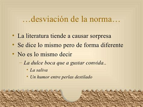 Características de la lengua literaria