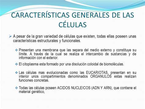 CARACTERÍSTICAS UNIVERSALES DE LA CÉLULA   ppt descargar
