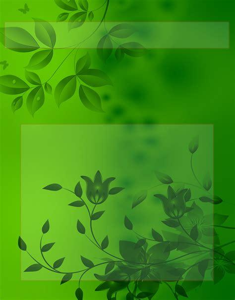 caratula de fondo de plantas verde | Portadas trabajos ...