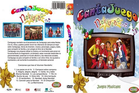 caratula DVD cantajuegos navideño | CANCIONES INFANTILES ...