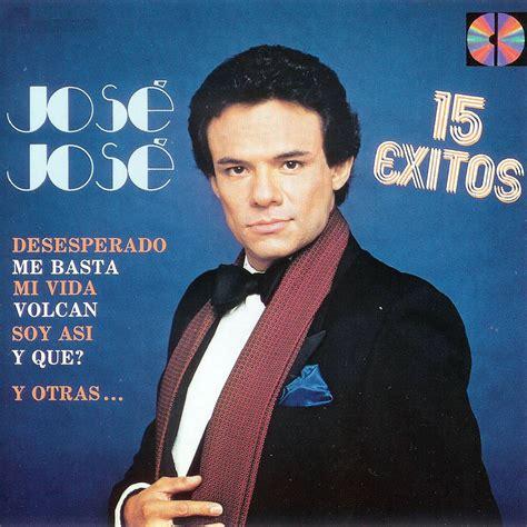 Carátula Frontal de 15 Exitos de Jose Jose   CARATULAS.COM,
