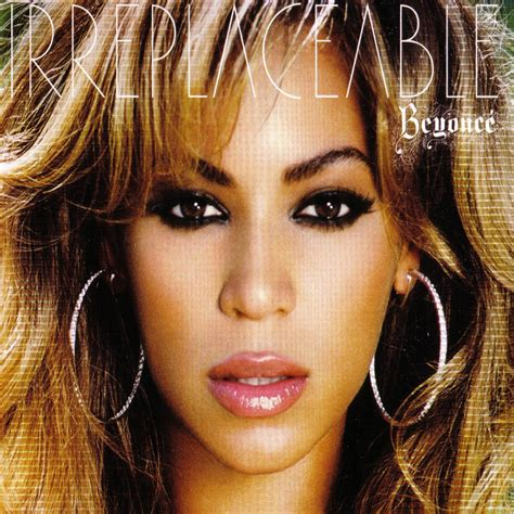 Carátula Frontal de Beyonce - Irreplaceable (Cd Single ...