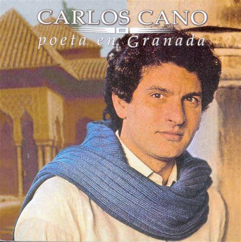 Carátula Frontal de Carlos Cano - Poeta En Granada - Portada