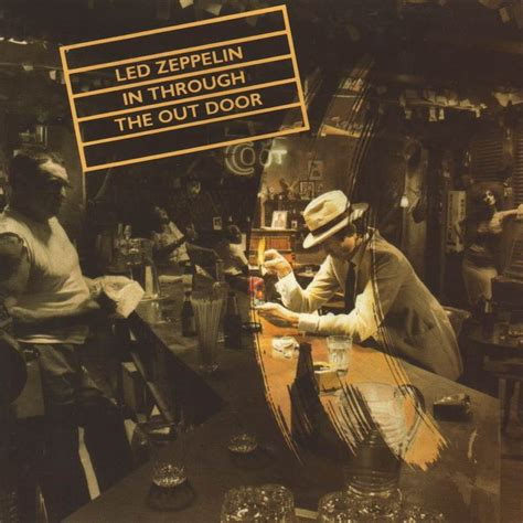 Carátula Frontal de Led Zeppelin   In Through The Out Door ...