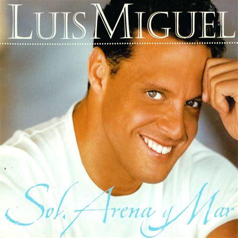 Carátula Frontal de Luis Miguel - Sol, Arena Y Mar (Cd ...