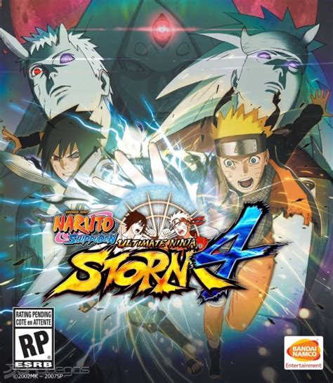 Carátula oficial de Naruto Shippuden: Ultimate Ninja Storm ...