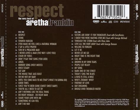 Carátula Trasera de Aretha Franklin   Respect: The Very ...
