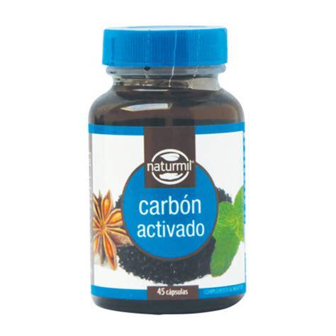 Carbón Activado - 45 capsulas - Naturmil - Boteprote