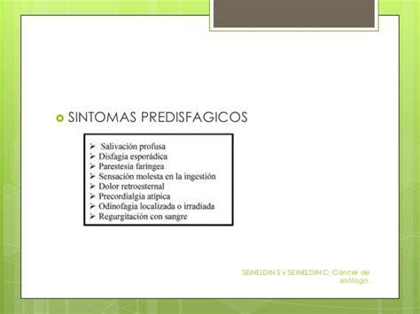 Carcinoma de Esofago y Cardias