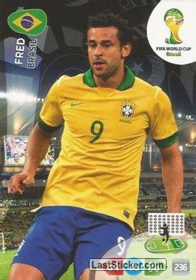 Card 58: Fred   Panini FIFA World Cup Brazil 2014 ...