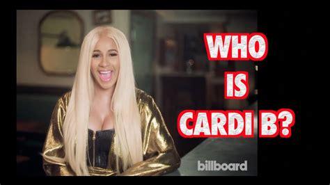 CARDI B BILLBOARD INTERVIEW 2017  FULL INTERVIEW    YouTube