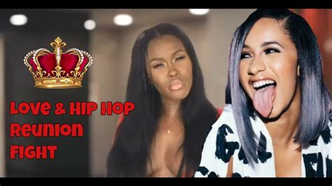 CARDI B VS ASIA FIGHT WITH FOOTAGE   YouTube