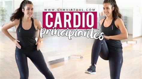 CARDIO PARA PRINCIPIANTES | RUTINA DE 5 MINUTOS | Gimnasia ...