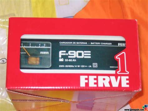 Cargador baterias FERVE