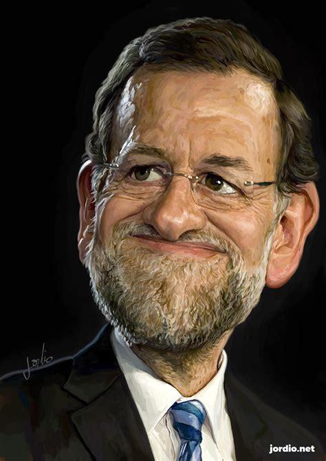 Caricatura digital Mariano Rajoy | Jordioh!