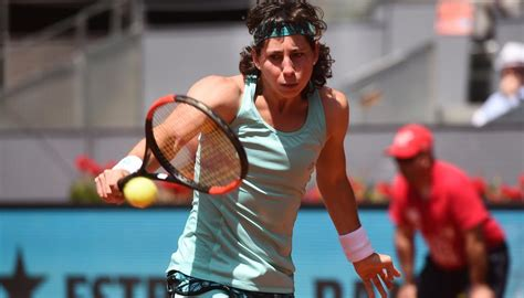 Carla Suárez gana dos posiciones y es la 23 del ranking WTA