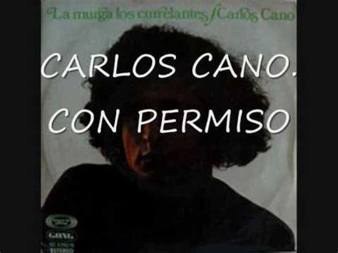 CARLOS CANO: CON PERMISO   YouTube