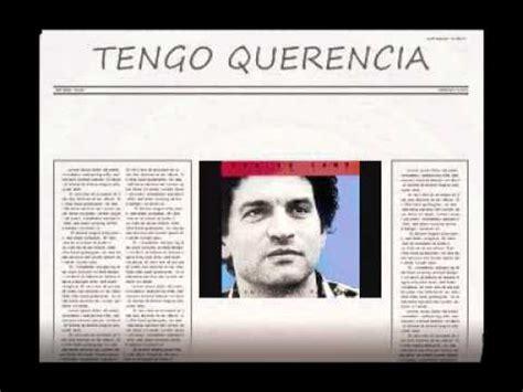 CARLOS CANO: TENGO QUERENCIA - YouTube