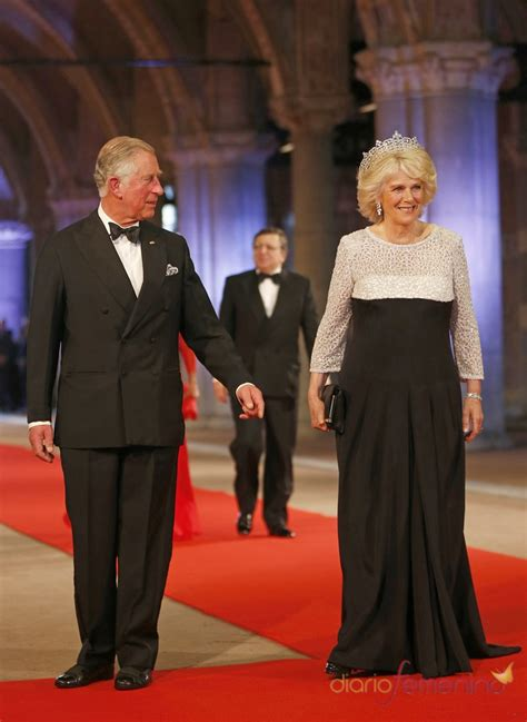 Carlos de Inglaterra y Camila, duquesa de Cornualles, en ...