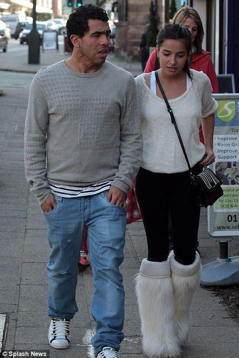 Carlos Tevez and girlfriend Brenda Asnicar back on track ...