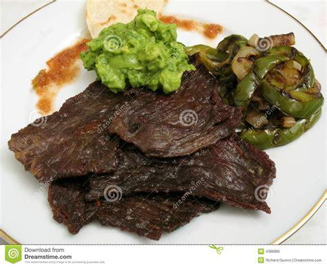 Carne de vaca frita Cecina imagen de archivo. Imagen de ...