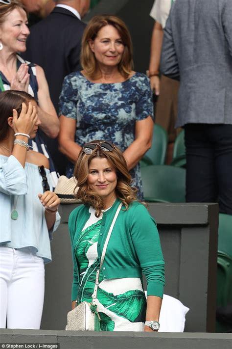 Carole Middleton s Wimbledon tickets through Mrs Federer ...