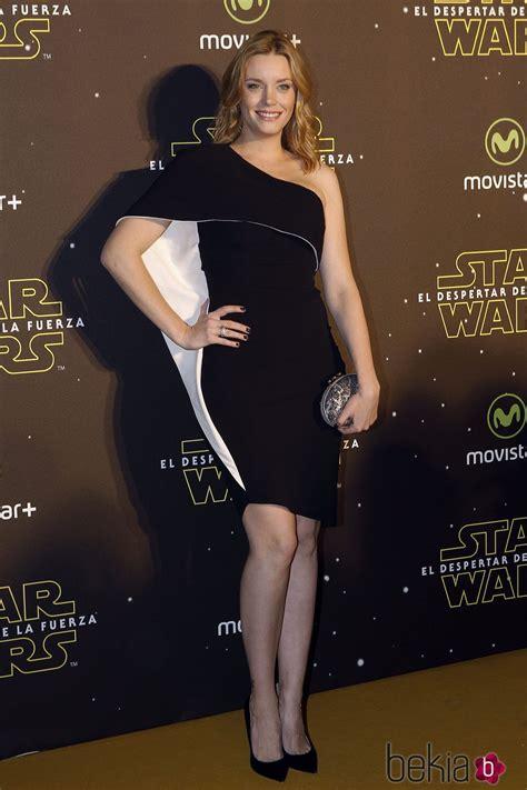 Carolina Bang en el estreno de  Star Wars: El Despertar de ...