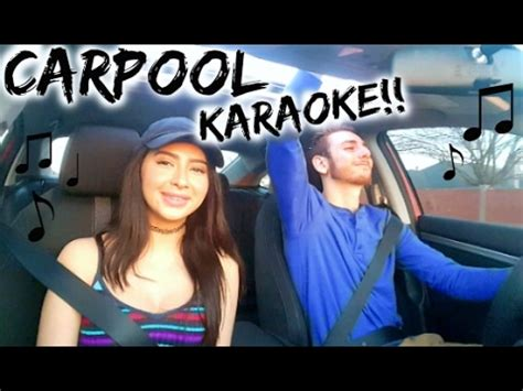 CARPOOL KARAOKE IN MY NEW CAR!!   YouTube