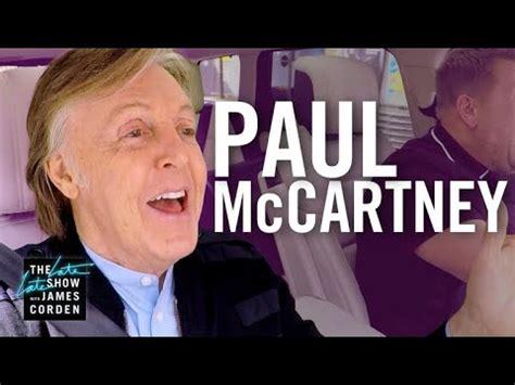Carpool Karaoke — Paul McCartney in London (4 stars) | Joy ...