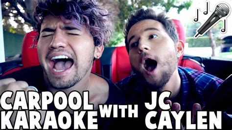 CARPOOL KARAOKE w/ JC CAYLEN   YouTube