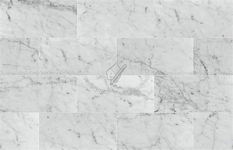 Carrara white marble floor tile texture seamless 14809