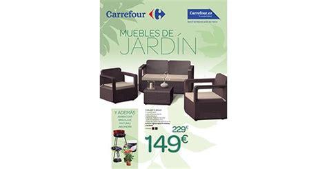 Carrefour, nuevo folleto de muebles de jardín, jardinería ...