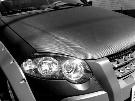 Carros revestidos de Fibra de Carbono