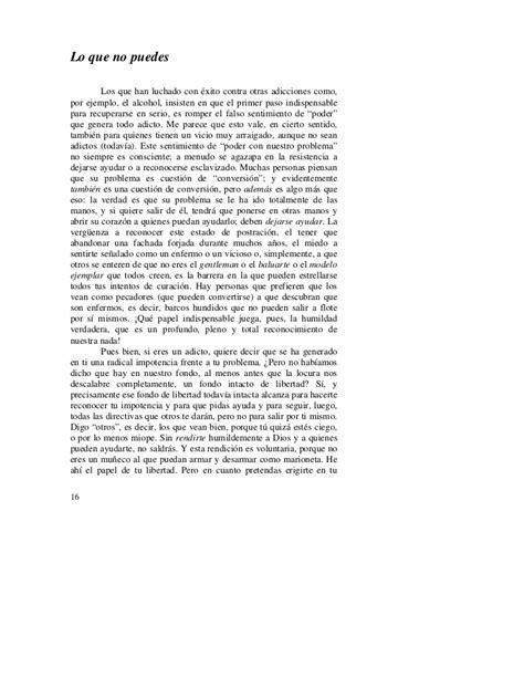 CARTA A UN AMIGO ADICTO- P.FUENTES