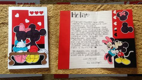 Carta bonita y fácil! para tu novio/a ♡ - YouTube