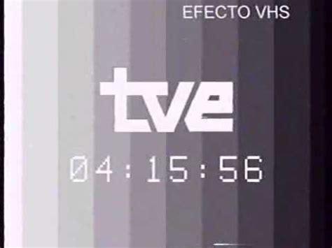 Carta de Ajuste TVE con el reloj digital de Television ...