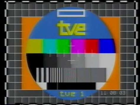 Carta de ajuste y apertura TVE1 1984   YouTube