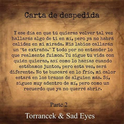 Carta de despedida | Frases | Pinterest | Carta de ...