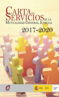 Carta de servicios | Mutualidad General Judicial