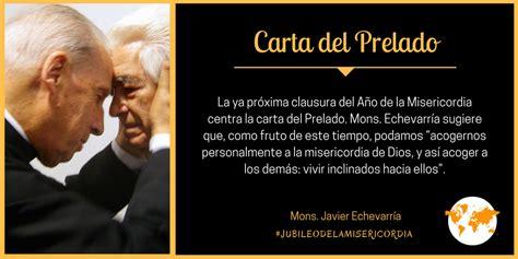 Carta del Prelado (noviembre de 2016) | Mons. Javier ...