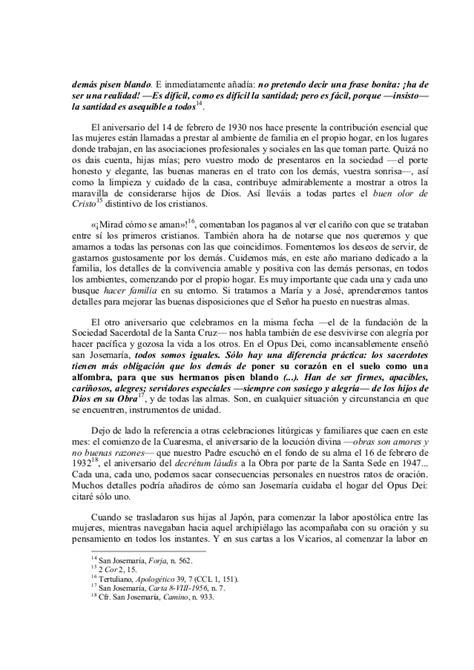 Carta pastoral del prelado del opus dei, febrero 2015 ...