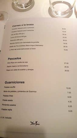 Carta   Picture of De Maria Felix Boix, Madrid   TripAdvisor