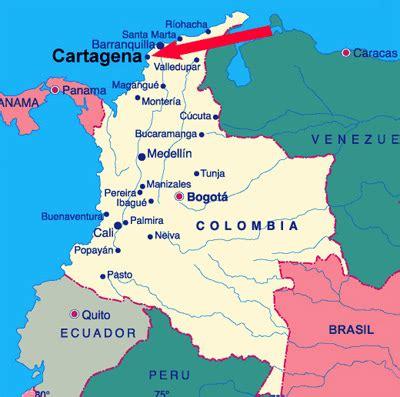 Cartagena de Indias - Ubicación Geográfica
