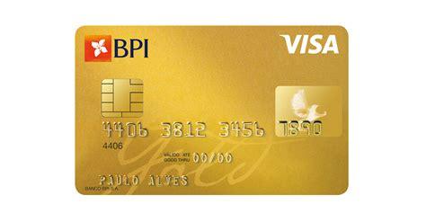Cartão BPI Gold   Cartões de Crédito   Banco BPI