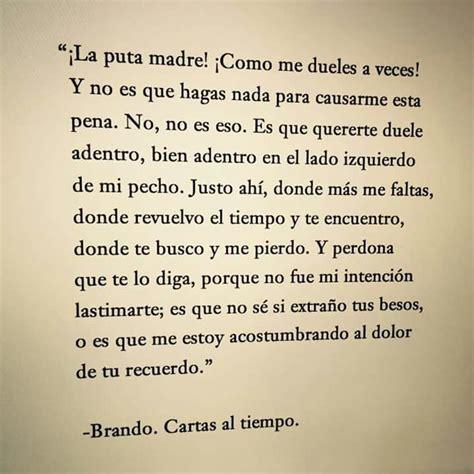 cartas al tiempo  mind of brando | Poems... I fall in love ...